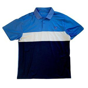 Under Armour Mens Size XL Golf Polo Loose Fit Blue